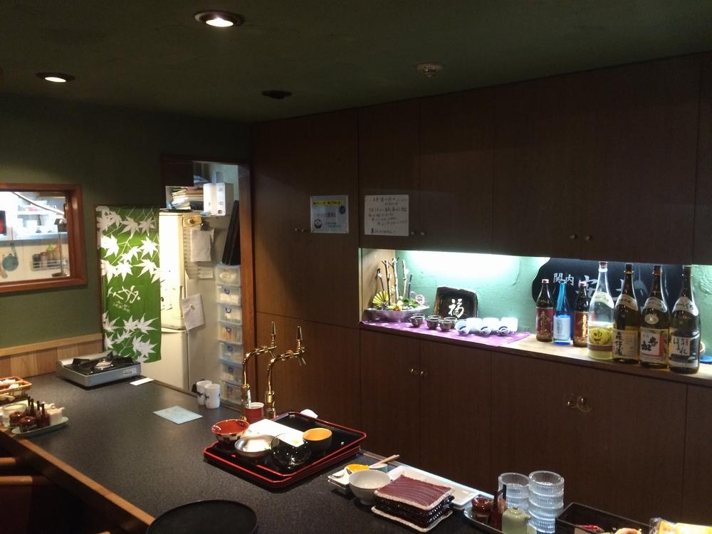 関内安土のカウンター