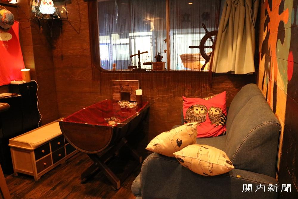 BarPrimaのソファー席