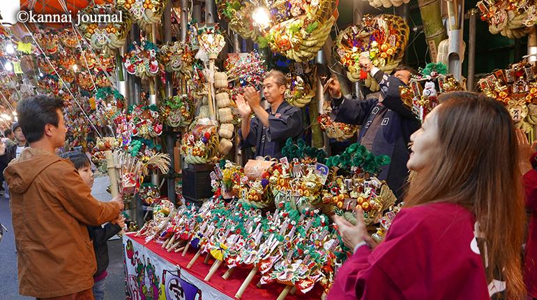 今年は三の酉まで!! 金刀比羅大鷲神社の酉の市