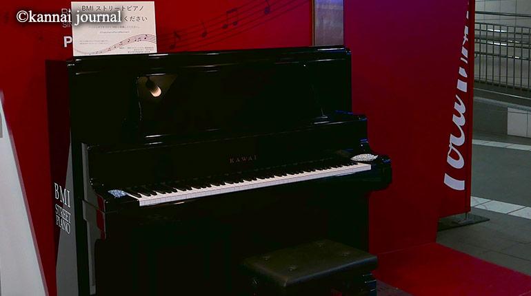 「ご自由にお弾きください」ストリートピアノが関内に登場